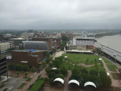 Not- so- sunny Louisville.