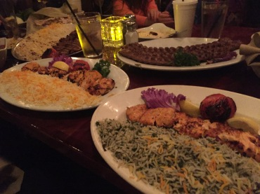 AMAZING Persian dinner!!