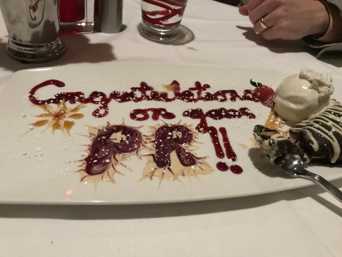 My PR dessert!