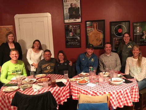 Dinner with the 50sub4's