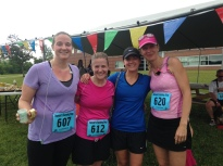 My post- baby running group